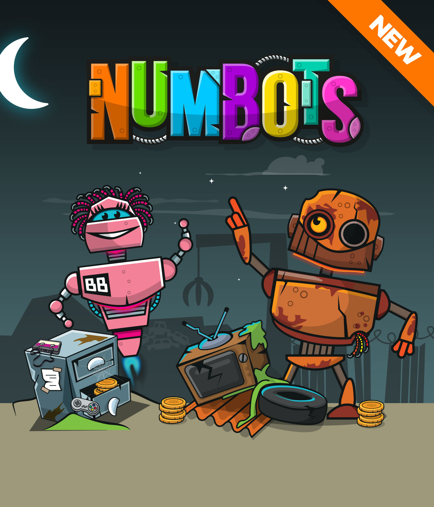 Maths-Circle - numbots